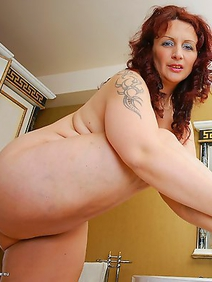 busty; chubby; european women; housewives; in a bath; shower; solo; stockings; tattooed;
