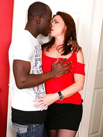 couple; england; housewives; interracial; stockings;
