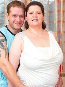 busty; chubby; couple; stockings; toys; upskirt;
