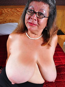 busty; grannies; guatemala women; masturbation; monster tits; shaved pussy; solo; stockings;