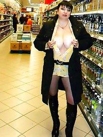 busty; public; shopping; upskirt;