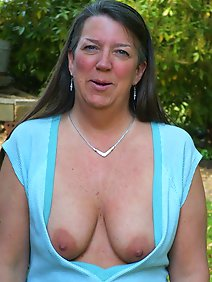 busty; outdoors; public;