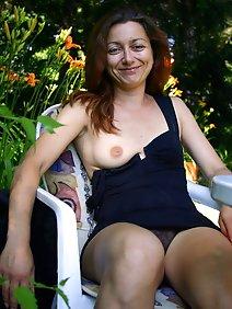 busty; outdoors; upskirt;