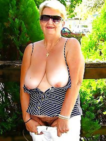 busty; chubby; flashing; grannies; outdoors; upskirt;