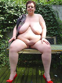 busty; chubby; outdoors; public;