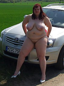 busty; car; chubby; housewives; outdoors; public;